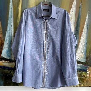 Butgatchi Uomo men's cotton button down shirt
